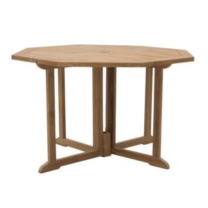 Heksagonalny stół ogrodowy składany Telemaco Savana