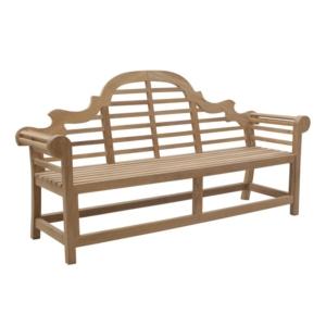 Klasyczna ławka ogrodowa z drewna Vittoria