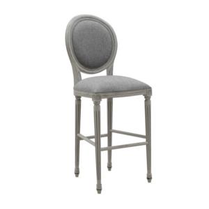 Klasyczne krzesło barowe zewnętrzne Mozaic