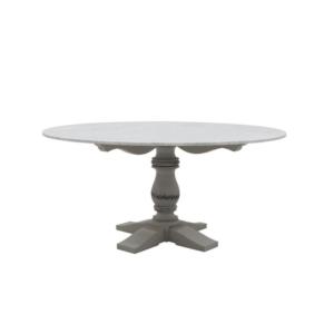 Klasyczny stół zewnętrzny okrągły Mozaic