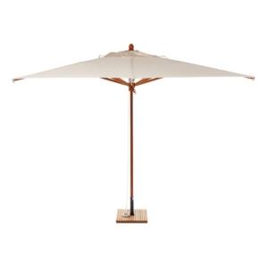 Kwadratowy parasol ogrodowy drewno 400cm Ombrelloni
