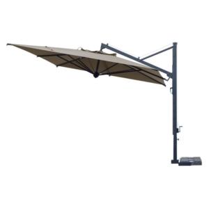 Kwadratowy składany parasol ogrodowy aluminium 300cm Lei Ombrelloni