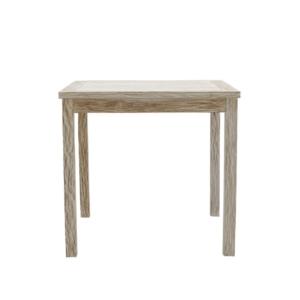 Kwadratowy stół ogrodowy White Sand