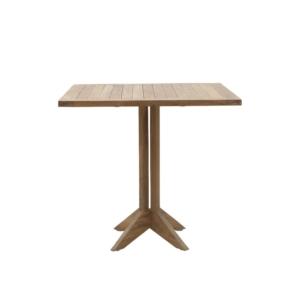 Kwadratowy stół zewnętrzny na jednej nodze Macao