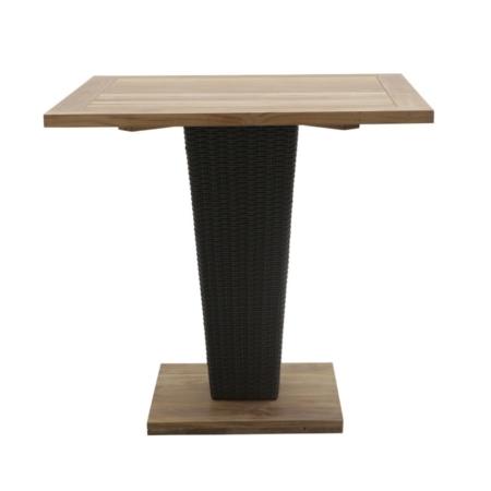 Kwadratowy stół zewnętrzny na jednej nodze Sentosa