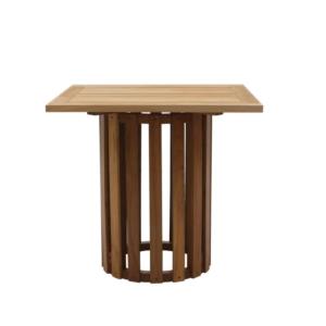 Kwadratowy stół zewnętrzny na jednej nodze Washington Georgetown