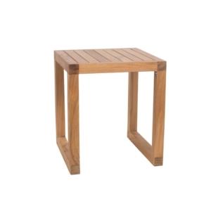 Kwadratowy stolik pomocniczy zewnętrzny Boxer