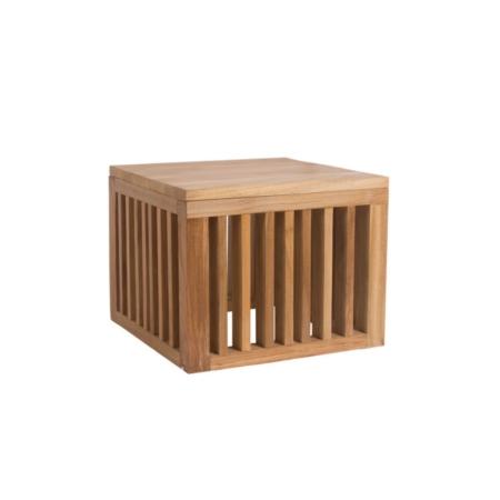 Kwadratowy stolik pomocniczy zewnętrzny Code