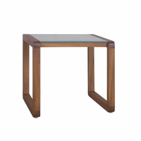 Kwadratowy stolik pomocniczy zewnętrzny Dual