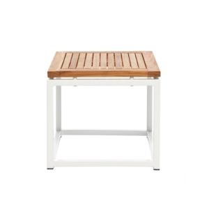 Kwadratowy stolik pomocniczy zewnętrzny Lui Lei