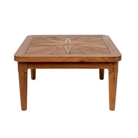 Kwadratowy stolik pomocniczy zewnętrzny Mistral Saint Laurent