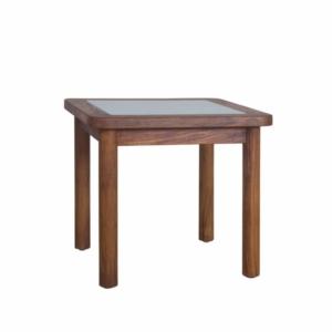 Kwadratowy stolik pomocniczy zewnętrzny Ring