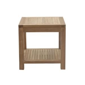 Kwadratowy stolik pomocniczy zewnętrzny Savana