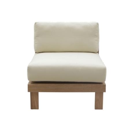 Ogrodowa sofa modułowa środkowy fotel Saint Tropez
