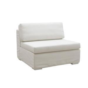 Ogrodowa sofa modułowa środkowy fotel Zefiro