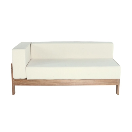 Ogrodowa sofa modułowa element 166 cm Saint Raphael