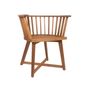 Ogrodowe krzesło jadalne z podłokietnikami Remix