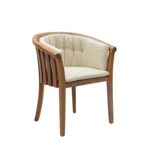 Ogrodowe krzesło jadalne z podłokietnikami Washington Georgetown