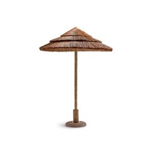 Okrągły parasol plażowy drewniany 200cm Exotic Ombrelloni