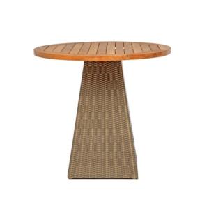 Okrągły stół na jednej nodze zewnętrzny Gipsy