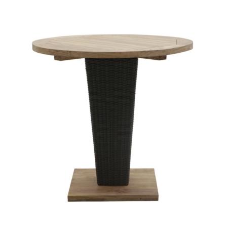 Okrągły stół na jednej nodze zewnętrzny Sentosa