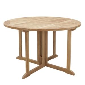 Okrągły stół ogrodowy Telemaco Savana