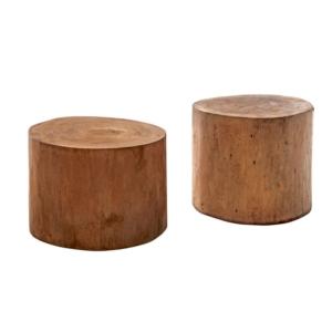 Okrągły stolik pomocniczy zewnętrzny stołek 3