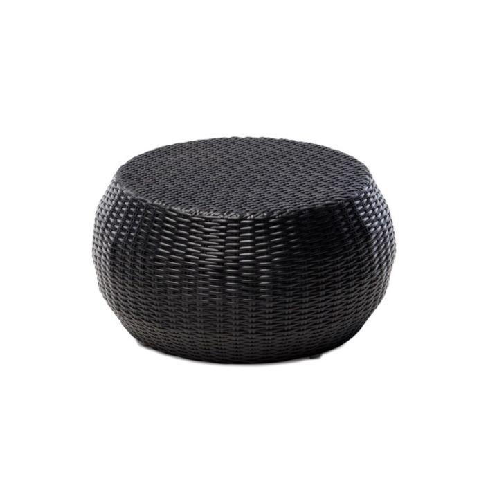 Okrągły stolik pomocniczy zewnętrzny stołek Sentosa