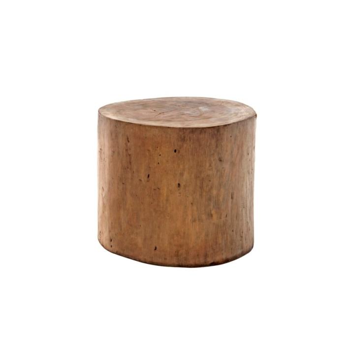 Okrągły stolik pomocniczy zewnętrzny stołek Suar 2