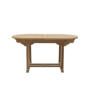 Owalny stół ogrodowy roskładany Ulisse Classica