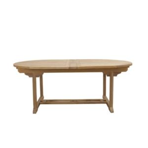Owalny stół ogrodowy rozkładany Golia Classica