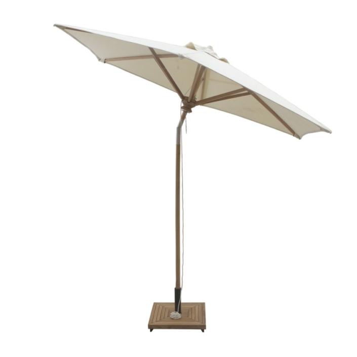 Parasol ogrodowy drewno 250cm Para Ombrelloni