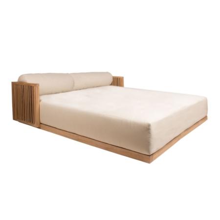 Podwójne łóżko zewnętrzne Code