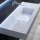 Podwieszana umywalka Q LINE-BOX Qin