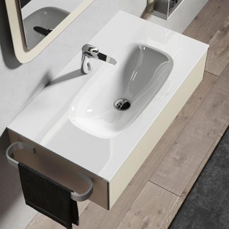 Podwieszana umywalka z szafką H24 06 Qin