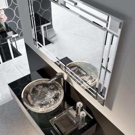 Podwieszana umywalka z szafką ZTOP108SE Qin