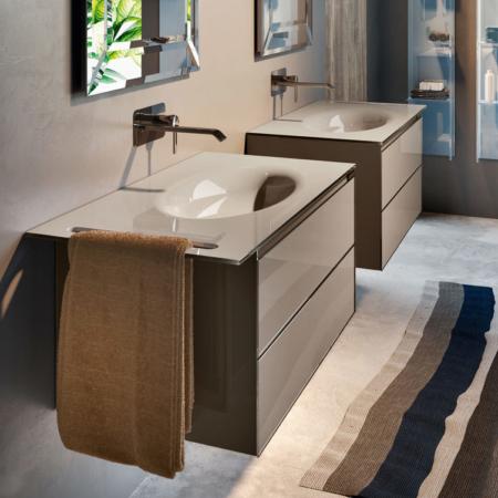 Podwieszana umywalka z szafką Zero ZP902 Qin