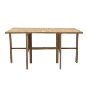 Prostokątny stół jadalny ogrodowy Telemaco Savana