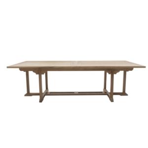 Prostokątny stół jadalny zewnętrzny rozkładany Olimpo Classica