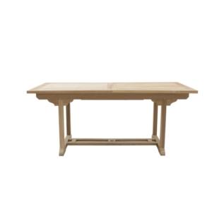 Prostokątny stół jadalny zewnętrzny rozkładany Titano Classica