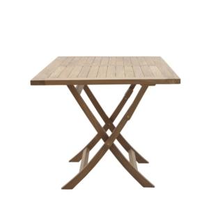 Prostokątny stół jadalny zewnętrzny składany Singaraja Moon