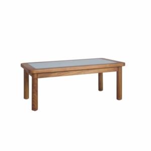 Prostokątny stolik kawowy zewnętrzny Ring