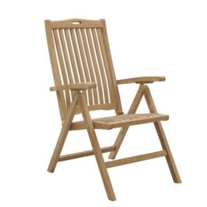 Regulowany fotel ogrodowy jadalny 5 pozycji Moon