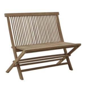 Składana ławka ogrodowa Bristol Classica