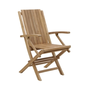 Składane krzesło ogrodowe z podłokietnikami Onda Savana