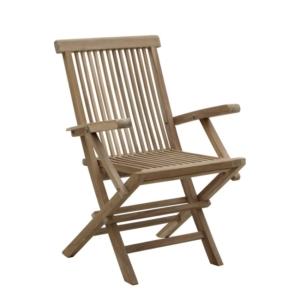 Składany fotel ogrodowy jadalny Bristol Classica
