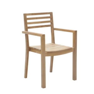 Sztaplowane krzesło ogrodowe Dehors