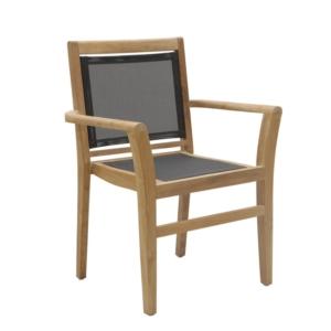 Sztaplowane krzesło ogrodowe Macao