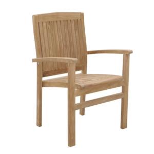 Sztaplowane krzesło ogrodowe Onda Savana