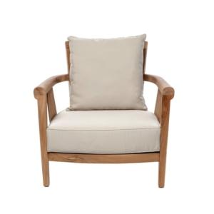 Tapicerowany fotel ogrodowy Saint Laurent
